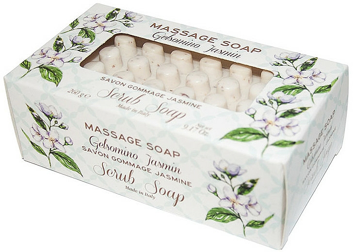 Massage-Peelingseife Jasmin - Gori 1919 Massage Scrub Soap Jasmin — Bild N1