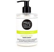 Düfte, Parfümerie und Kosmetik Handcreme mit Patchouli und Zitrone - Melli Care Patchouli&Lemon Hand Cream