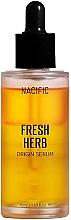 Düfte, Parfümerie und Kosmetik Regenerierendes Gesichtsserum mit Seerosenextrakt und Aminosäuren - Nacific Fresh Herb Origin Serum