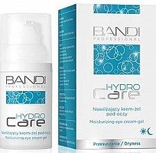 Düfte, Parfümerie und Kosmetik Feuchtigkeitsspendendes Augencreme-Gel für trockene Haut - Bandi Professional Hydro Care Moisturizing Eye Cream-Gel