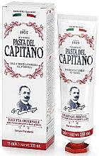 Düfte, Parfümerie und Kosmetik Zahnpasta mit Nelkenblättern, Pfefferminze und Zimt - Pasta Del Capitano Original Recipe Toothpaste