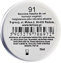 Natürliche Lippenbutter - Felicea Natural Lip Butter — Bild N2