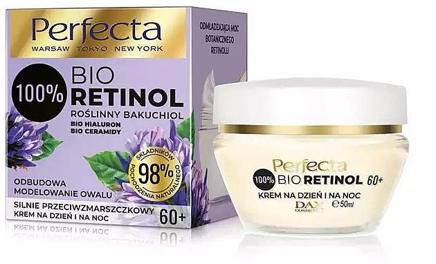 Tages- und Nachtcreme für das Gesicht 60+ - Perfecta Bio Retinol 60+ Day And Night Cream