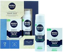 Düfte, Parfümerie und Kosmetik Gesichtspflegeset - Nivea for Men Shave Master Gift Set (Rasierschaum 200ml + After Shave Balsam 100ml)
