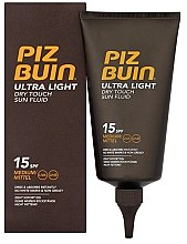 Düfte, Parfümerie und Kosmetik Körperfluid mit ätherischen Ölen und mediterranen Pflanzenextrakten - Piz Buin Ultra Light Dry Touch SPF15