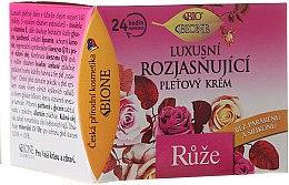 Düfte, Parfümerie und Kosmetik Aufhellende Gesichtscreme mit Rosenöl und Vitamin E - Bione Cosmetics Rose Cream