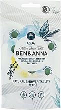 Düfte, Parfümerie und Kosmetik Natürliche Dusch-Tabletten - Ben&Anna Aqua Natural Shower Tablets