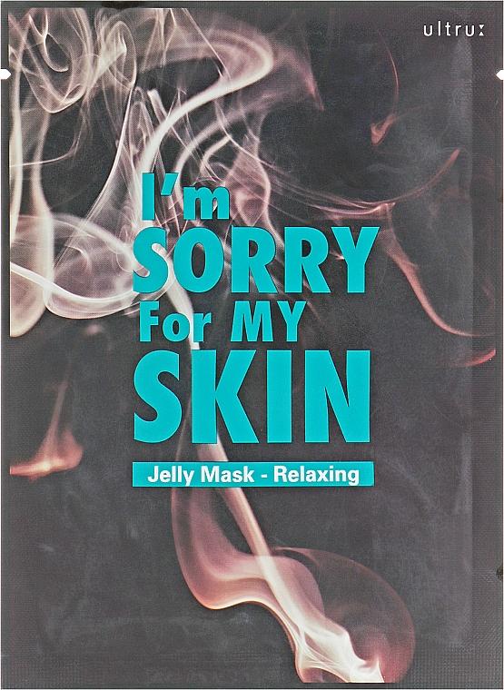 Entspannende Tuchmaske mit Nachtkerzenextrakt - Ultru I'm Sorry For My Skin Relaxing Mask — Bild N1