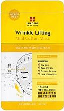 Düfte, Parfümerie und Kosmetik Straffende Gesichtsmaske - Leaders Ex Solution Wrinkle Lifting Mild Cotton Mask