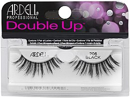 Düfte, Parfümerie und Kosmetik Künstliche Wimpern - Ardell Double Up 206 Black