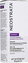 Düfte, Parfümerie und Kosmetik Glättendes Gesichtspeeling mit 10% AHA-Säuren - Neostrata Correct Glycolic Microdermabrasion Polish