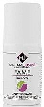 Düfte, Parfümerie und Kosmetik Deo Roll-on Antitranspirant - Madame Justine Fame Roll-On Zielona Herbata