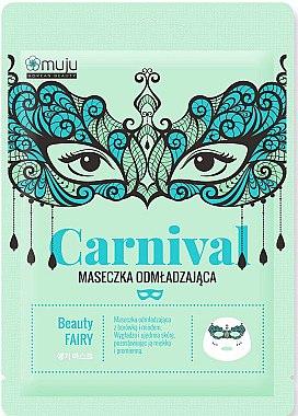 Anti-Aging Tuchmaske mit Blaubeere und Honig - Muju Carnival Beauty Fairy — Bild N1