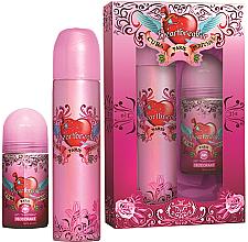 Düfte, Parfümerie und Kosmetik Cuba Heartbreaker - Duftset (Eau de Parfum 100ml + Deodorant Antitranspirant 50ml)