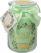 Düfte, Parfümerie und Kosmetik Duftkerze im Glas Jasmin & Flieder - Artman All Season Jar Wild Garden Jasmin & Lilac Ø10 x H16 cm (700 g)