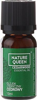 "Ätherisches Öl ""Zederholz"" - Nature Queen Essential Oil Cedarwood — Bild N1"
