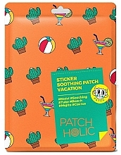 Düfte, Parfümerie und Kosmetik Beruhigende Gesichts- und Körperpatches mit Kaktusextrakt - Patch Holic Sticker Soothing Patch Vacation