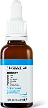 Düfte, Parfümerie und Kosmetik Feuchtigkeitsspendender und pflegender Gesichtsserum-Booster - Revolution Skincare Mood Thirsty Quenching Skin Booster