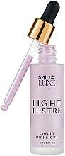 Düfte, Parfümerie und Kosmetik Flüssiger Highlighter - MUA Luxe Light Lustre Liquid Highlight