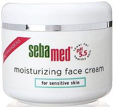 Düfte, Parfümerie und Kosmetik Feuchtigkeitscreme - Sebamed Moisturing Face Cream Sensitive Skin