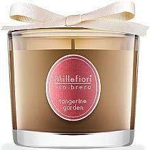 """Düfte, Parfümerie und Kosmetik Duftkerze im Glas """"Tangerine Garden"""" - Millefiori Milano Via Brera Candle Tangerine Garden"""