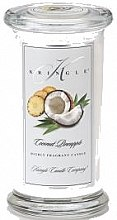 Düfte, Parfümerie und Kosmetik Duftkerze im Glas Coconut Pineapple - Kringle Candle Coconut Pineapple