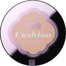 Düfte, Parfümerie und Kosmetik Cushion Foundation LSF 29 - L'Oreal Paris Nude Magique Cushion Foundation SPF29