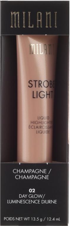 Flüssiger Highlighter für das Gesicht - Milani Strobe Light Liquid Highlighter — Bild N1