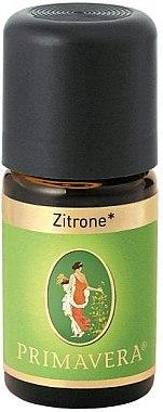 Raumduft Zitrone - Primavera Organic Lemon Essential Oil — Bild N1