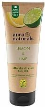 Düfte, Parfümerie und Kosmetik Körpermilch mit Zitrone und Limette - Aura Naturals Lemon & Lime Body Milk