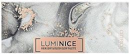 Düfte, Parfümerie und Kosmetik Rouge- und Highlighter-Palette - Catrice Luminice Highlight & Blush Glow Palette