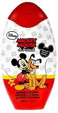 Düfte, Parfümerie und Kosmetik 2in1 Duschgel und Shampoo mit Pfirsich - Disney Mickey Mouse & Friends