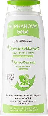 Hypoallergenes Waschgel für Haar und Körper - Alphanova Bebe Dermo-cleansing Hair & Body Wash — Bild N1