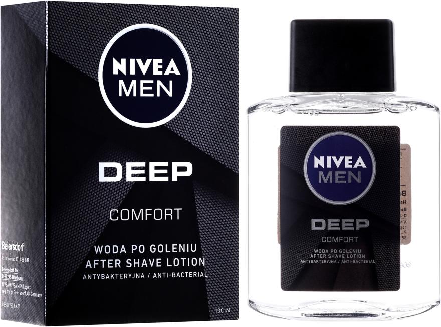Antibakterielle After Shave Lotion - Nivea Men Deep Comfort After Shave lotion