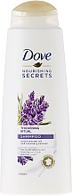 Düfte, Parfümerie und Kosmetik Volumen Ritual Shampoo mit Lavendel- und Rosmarinduft - Dove Thickening Ritual Shampoo Lavender