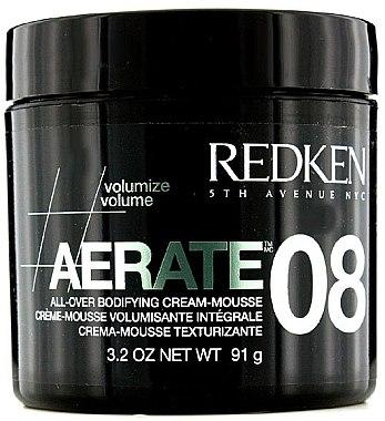 Cremige Haarmousse für mehr Volumen - Redken Styling Aerate 08 — Bild N1