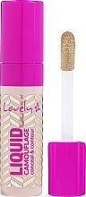 Düfte, Parfümerie und Kosmetik Flüssiger Concealer - Lovely Liquid Camouflage