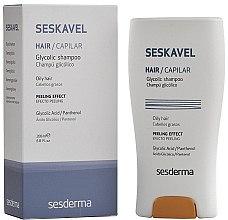Düfte, Parfümerie und Kosmetik Shampoo mit Glykolsäure und Panthenol für fettige Haut - SesDerma Laboratories Seskavel Glycolic Shampoo