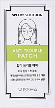Düfte, Parfümerie und Kosmetik Heilende Anti-Akne Gesichtspaches mit Salicylsäure und Teebaumöl - Missha Speedy Solution Anti Trouble