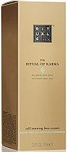 Düfte, Parfümerie und Kosmetik Selbstbräunungscreme für das Gesicht mit Ginkgo Biloba und weißem Tee - Rituals The Ritual of Karma Self Tanning Face Cream