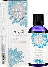 Düfte, Parfümerie und Kosmetik Starkes Massageöl mit Teufelskralle, Calendula, Kamille und schwarzer Johannisbeere - Arnica 35 Strong Oil