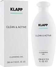 Düfte, Parfümerie und Kosmetik Gesichtsreinigungsgel - Klapp Clean & Active Cleansing Gel