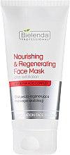 Düfte, Parfümerie und Kosmetik Pflegende und regenerierende Maske nach dem Peeling - Bielenda Professional Exfoliation Face Program Nourishing And Regenerating Face Mask