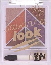 Düfte, Parfümerie und Kosmetik Lidschattenpalette - Avon Color Trend Savanna Look Eyeshadow Palette