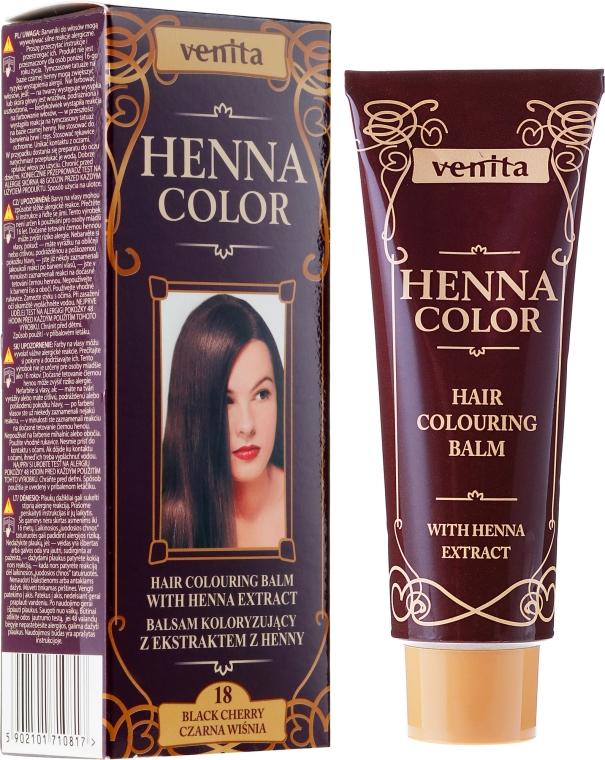 Creme-Haarfarbe mit Henna-Extrakt - Venita Henna Color