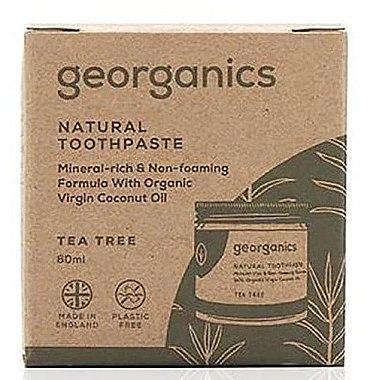 Natürliche Zahnpasta mit Teebaum-Geschmack - Georganics Tea Tree Natural Toothpaste — Bild N2