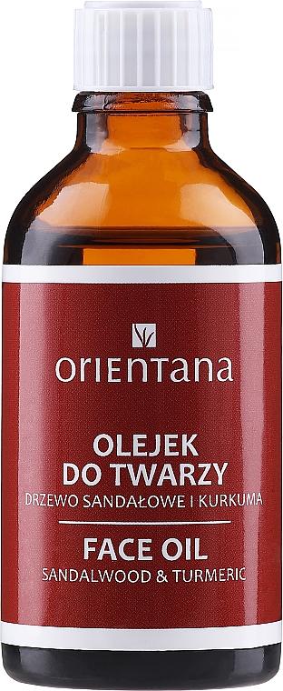 Gesichtsöl mit Kurkuma und Sandelholz - Orientana Face Oil Sandalwood & Turmeric