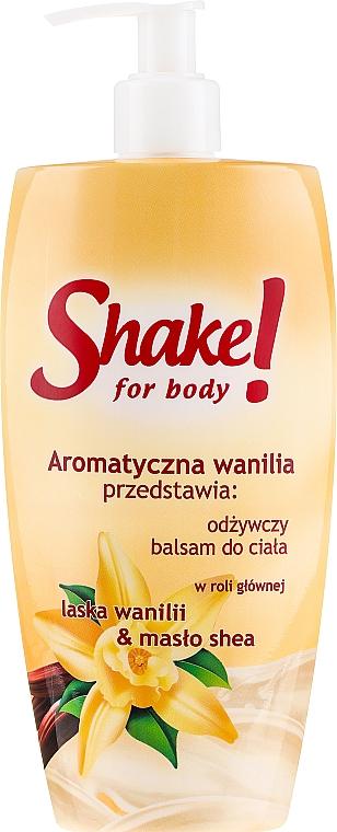 Regenerierende Körperlotion mit Vanilleduft - Shake for Body Regenerating Body Lotion Vanilla — Bild N1