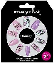 Düfte, Parfümerie und Kosmetik Künstliche Nägel Set pink - Donegal Express Your Beauty