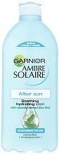 Düfte, Parfümerie und Kosmetik Beruhigende Körpermilch mit Aloe Vera nach dem Sonnenbad - Garnier Ambre Solaire